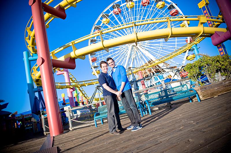 sana monica beach pier trash the dress engagement session photos portraits cloud 9 photography lovecloud9.com (7).jpg