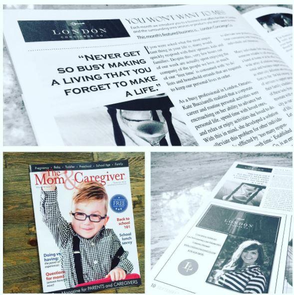 Mom and Caregiver Magazine - September 2017
