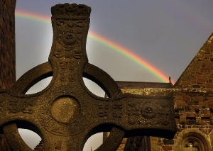 St. John's Cross, Iona Abbey