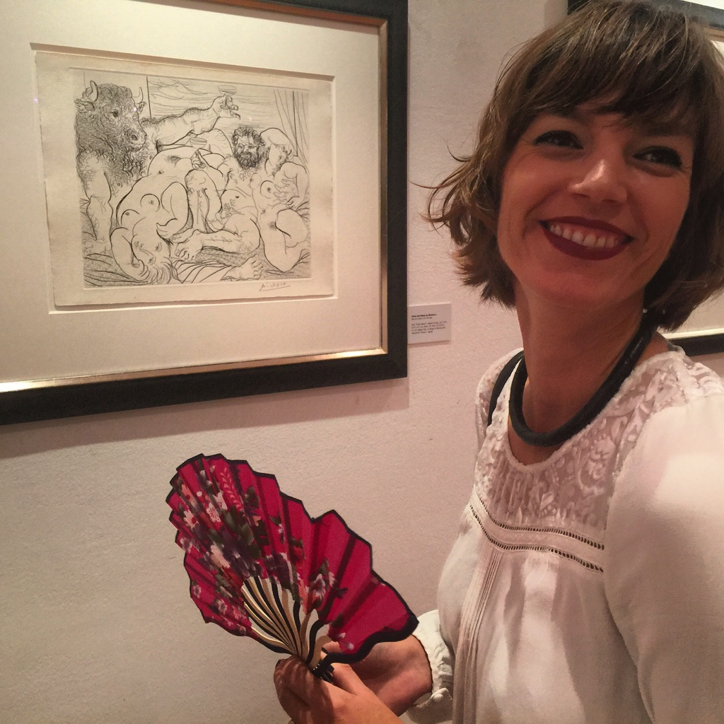 Picasso, Hand Fan and Me