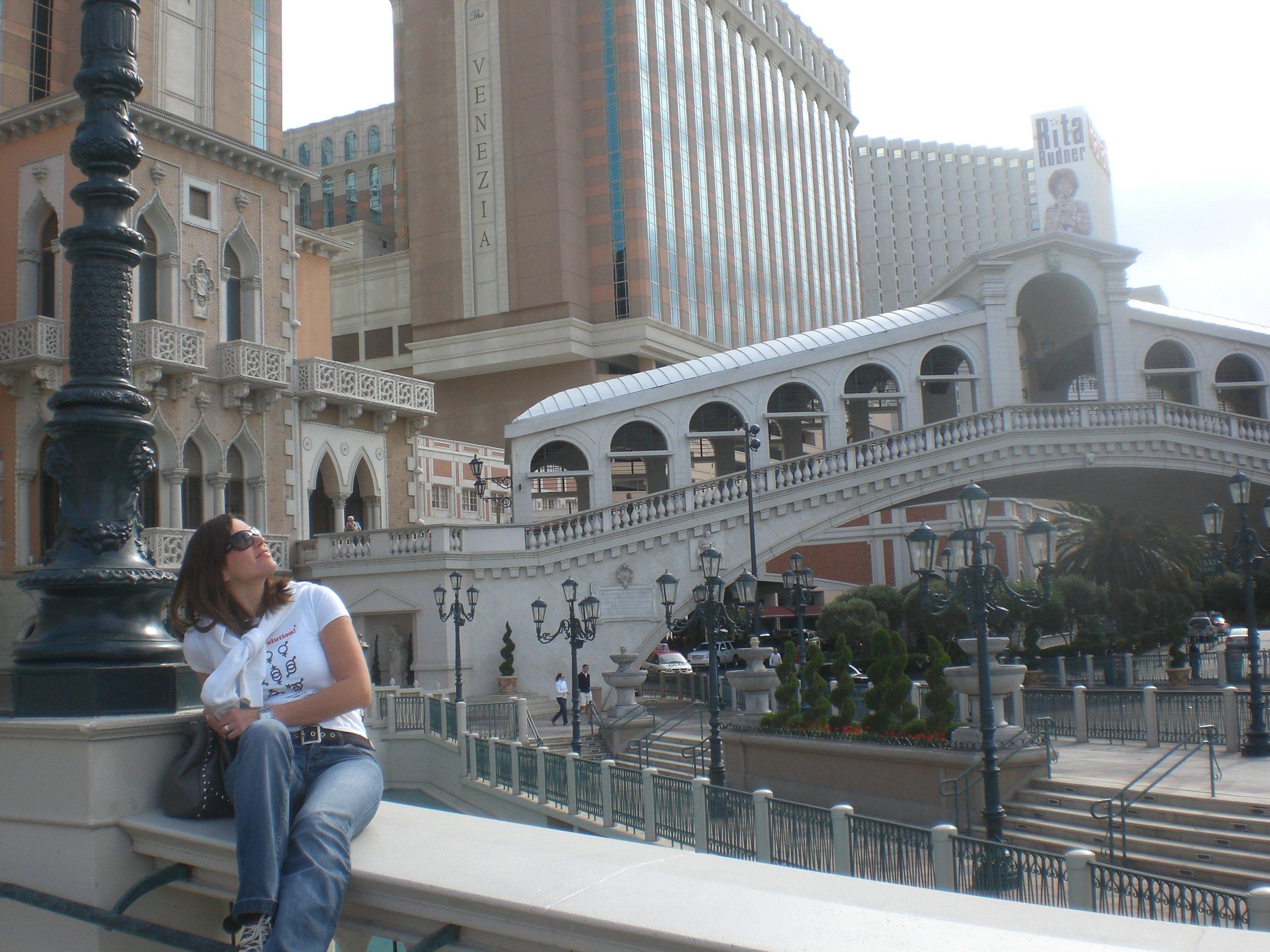 Enjoying my American Venice, 2008
