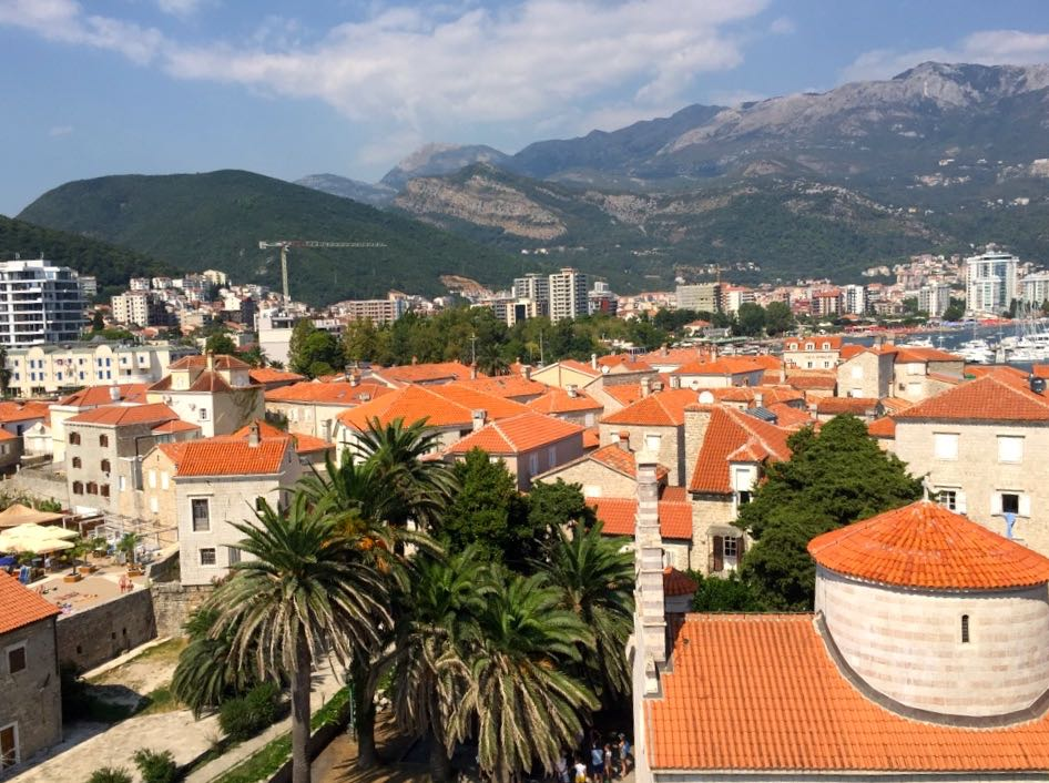 2500 years old centre of city of Budva