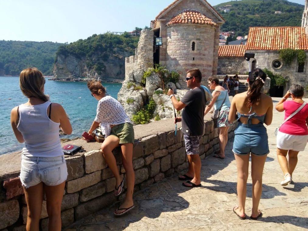 Tourists at the Citadel
