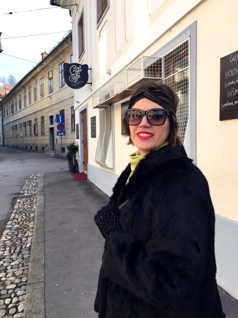 Walking the streets of Ljubljana