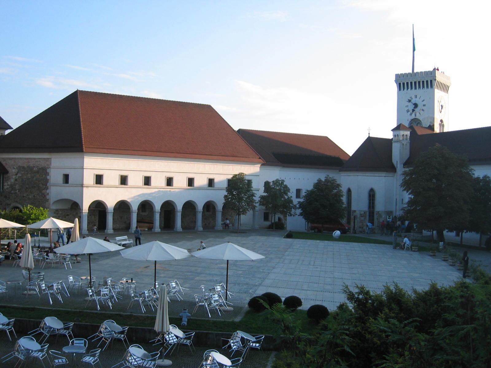 Ljubljana Castle Square, Žiga