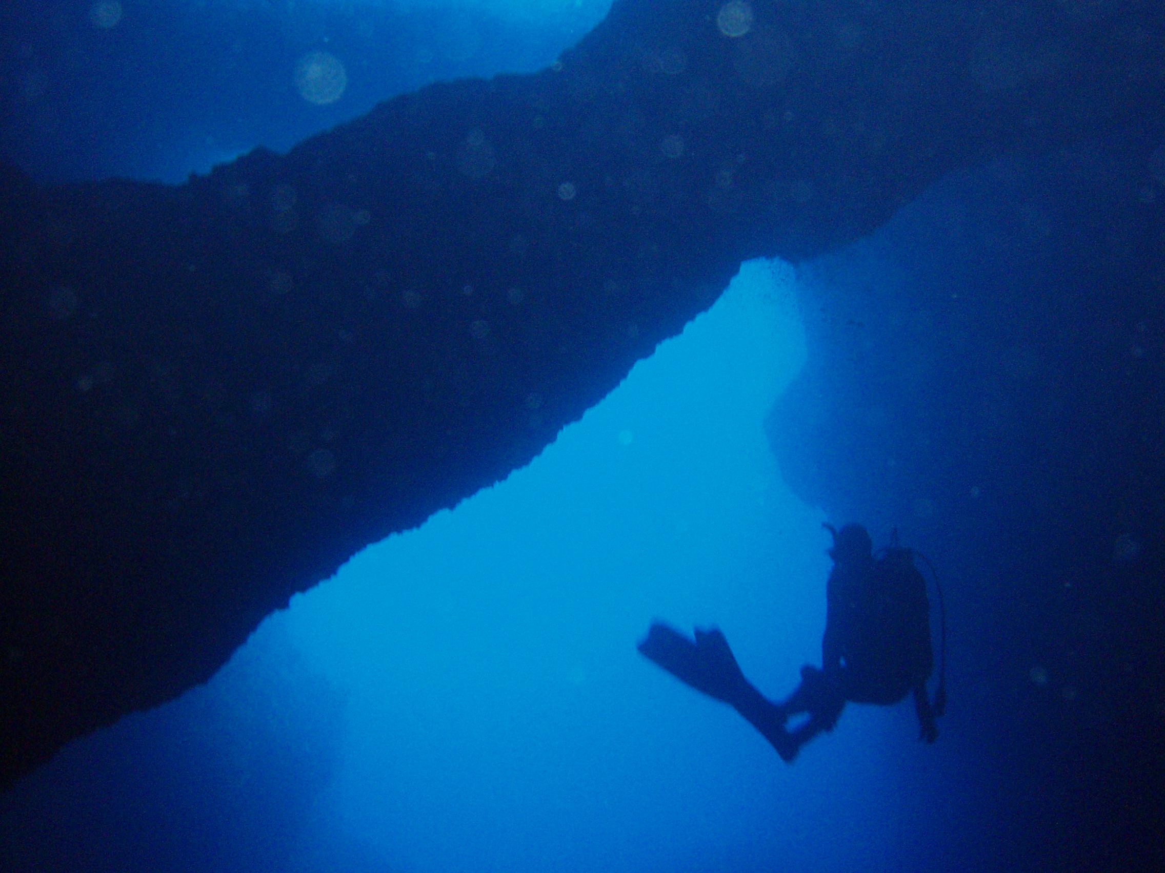 Blue Cave Bisevo