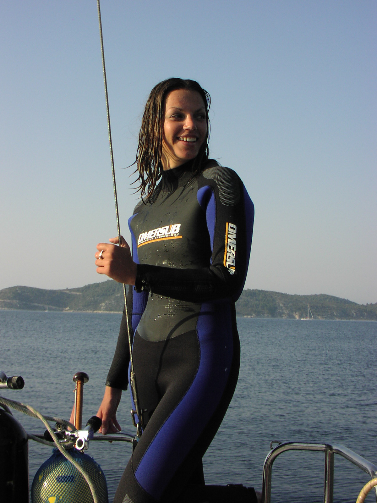 Preparations for diving
