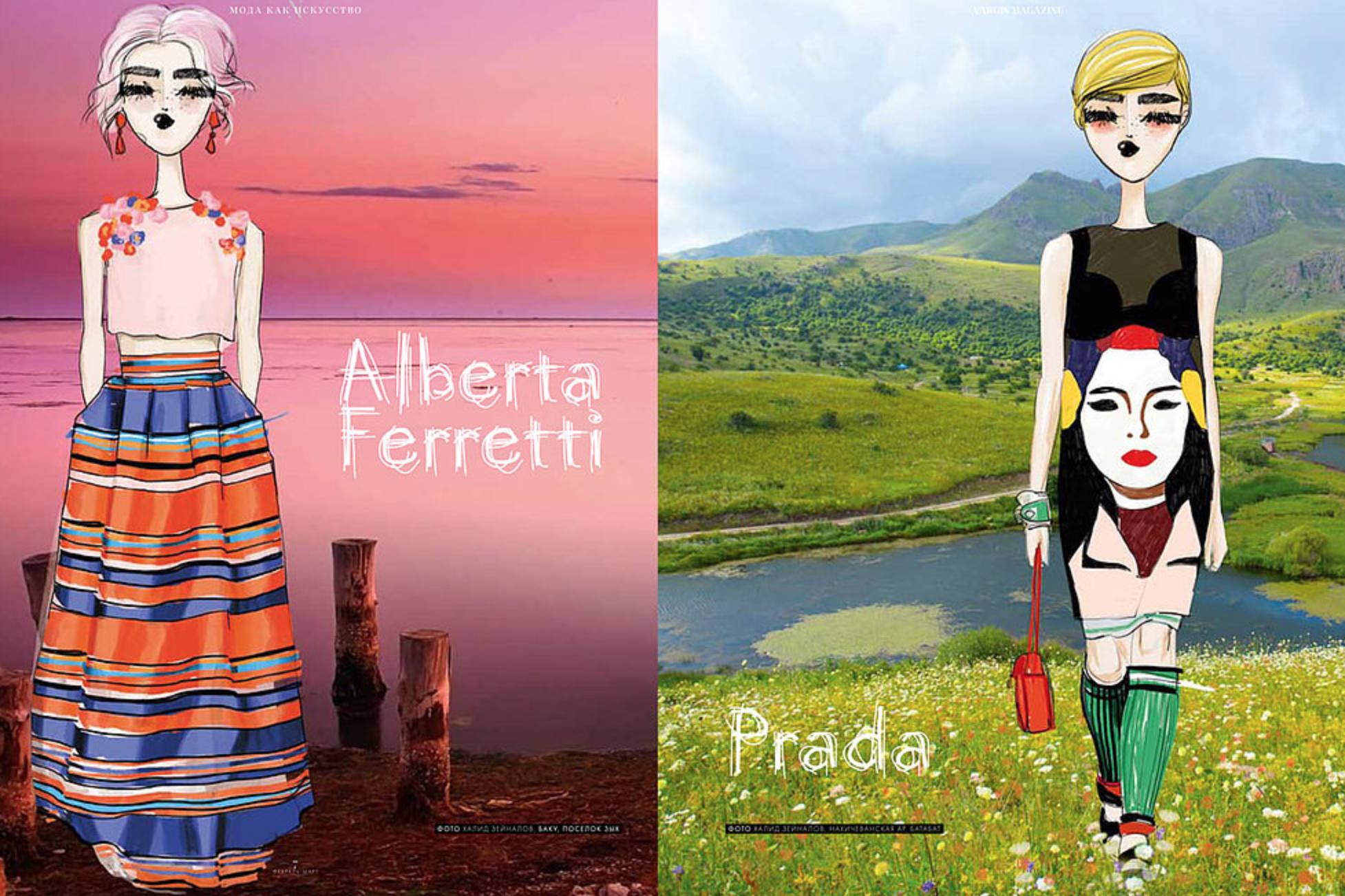 Koketit - Alberta Ferretti and Prada