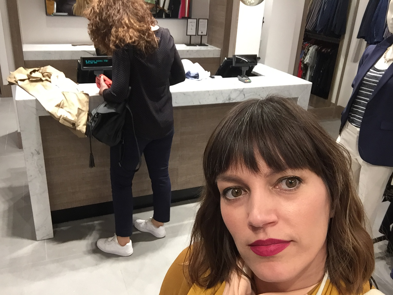 Shopping with Client