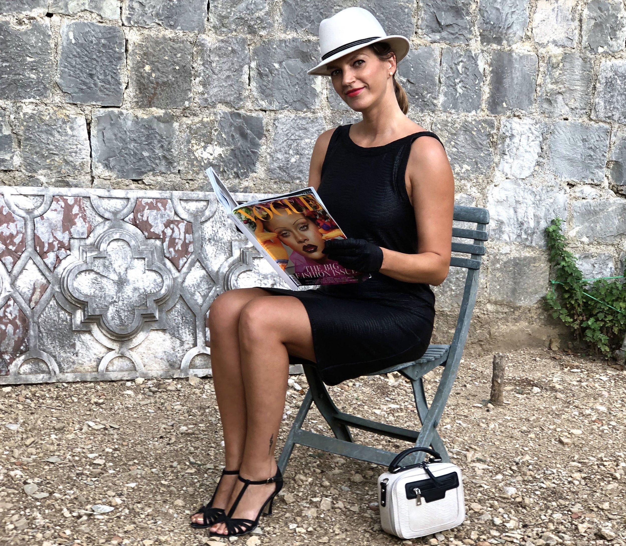 LBD with Vogue September 2018