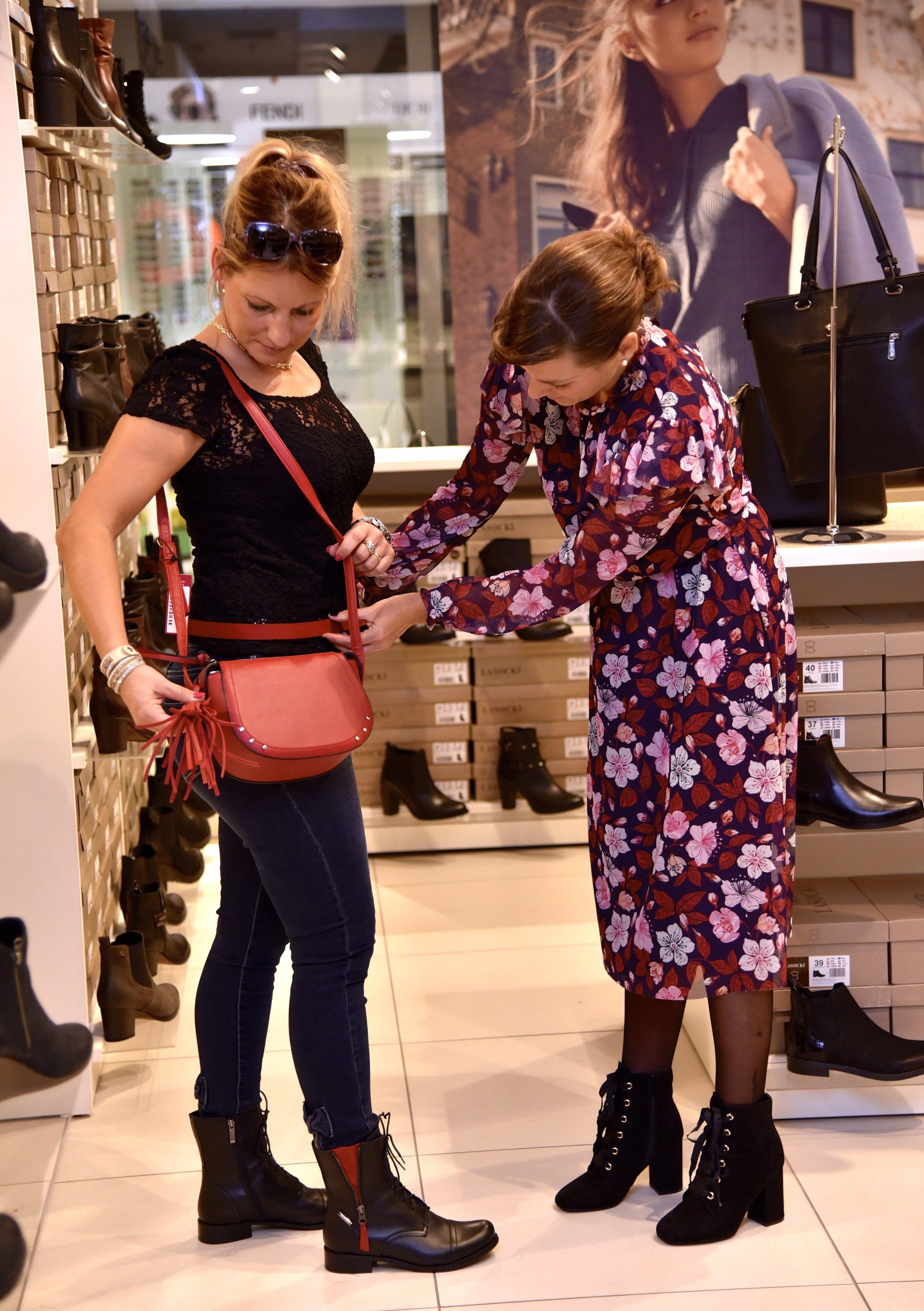 Shoes, bag, belt