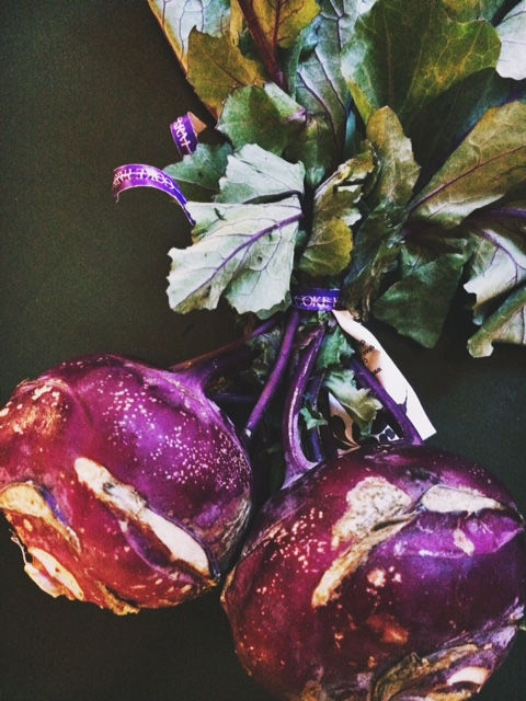 Kohlrabi ... so beautiful!