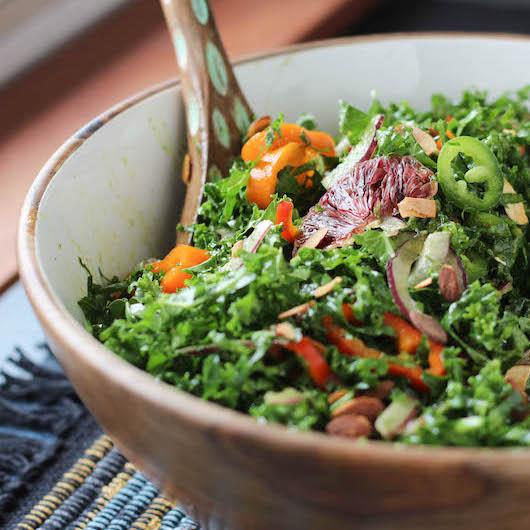 Spicy-Kale-Salad