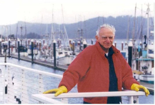 Photo of Wilbur E. Ternyik at the Port of Siuslaw, 2004 PHOTO PROVIDED BY EUGENE REGISTER-GUARD