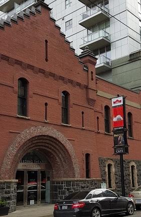 entry, Portland armory