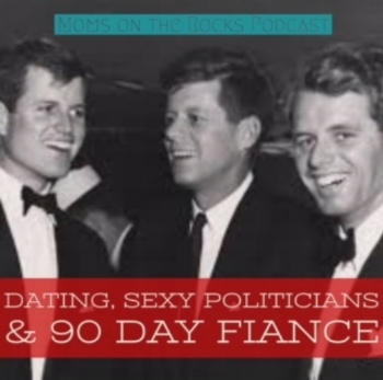 dating, sexy politicians and 90 day fiance - An epic episode! Carrie spills her thoughts on cemeteries and Katherine Heigl, which leads to her connection to Jon & Kate Plus 8. Naturally. Just to scare the crap out of Jodie, Carrie shares a story from her post-divorce dating days and her wild night out at Coyote Ugly. All this pearl clutching and secret-spilling inspires Jodie to share her unfortunate crush on a disgraced politician. Sshhhh! And if you love Sister Wives and 90 Day Fiance, this is your lucky day! Carrie holds Jodie's feet to the flames about her siding with Pedro against Chantal and Family Chantall all the time. Lastly, a dance battle commences so you better get ready for some rumpshakers in the 'burbs.