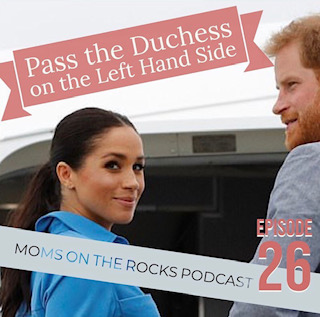 """PASS THE DUTCHESS ON THE LEFT SIDE - Carrie & Jody are ona roll this week. First up, a shout out to our Shero of the week, Sara Elisabeth Brown!Starting off with Carrie at the Air Force Base when President Bush was honored and an update on Kiernan, a turn is made with laser eyes on Meghan Markle. Have you heard the rumors swirling? We can't get enough! From do-over wedding wishes, to Jodie's theory on """"Disney Couples"""" and RHOC theories, we somehow end up with a full-on D.A.R.E. education on drugs. Are you a Jodie or a Carrie? We bet you can guess who still knows their DARE graduation song…Don't miss out on our Death Row Last Meals to more regional education on lawn decor this week."""