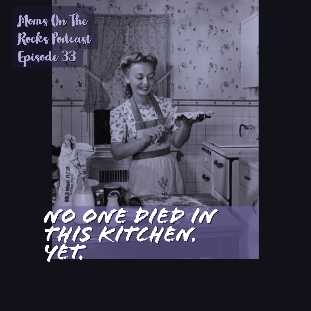 No One Has died in this kitchen. yet. - On this episode, the ladies open talking about Jaycee Dugard and I Know My First Name is Steven (if you are an 80s/90s kid you know Steven). Jodie shares some quirks of parents and the lies we tell our kids. Did you know she was never approved for Chuck E. Cheese? Carrie complains about the Colonel's disregard for expiration dates. Jodie shares her mom denied she tried to poison her with bratwurst. Carrie tries to kill the listeners' ears with the sounds of a water bottle. Of course with a liberal sprinkling 60 Days In, Seeking Sister Wife opinions and just momming out together. As always- you're a badass, don't apologize.