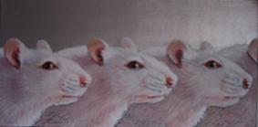"""Painting """"Animal Models"""" by Jane O'Hara"""