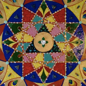 Mandala Twelve Pointed Star by Kim Salinas Silva