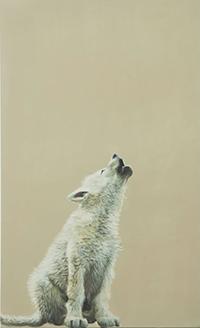 """Painting """"Yowl"""" by Jane O'Hara"""
