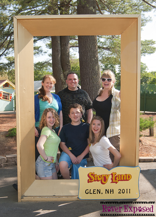 Story Land with friends