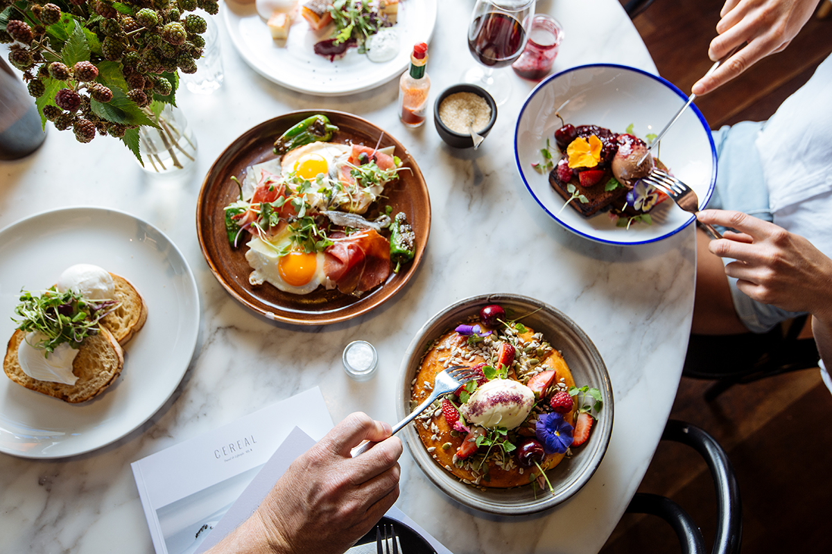 Top Paddock Cafe in Melbourne connects with influencers on social media allowing them share, socialise and promote their business through these hotly followed customers