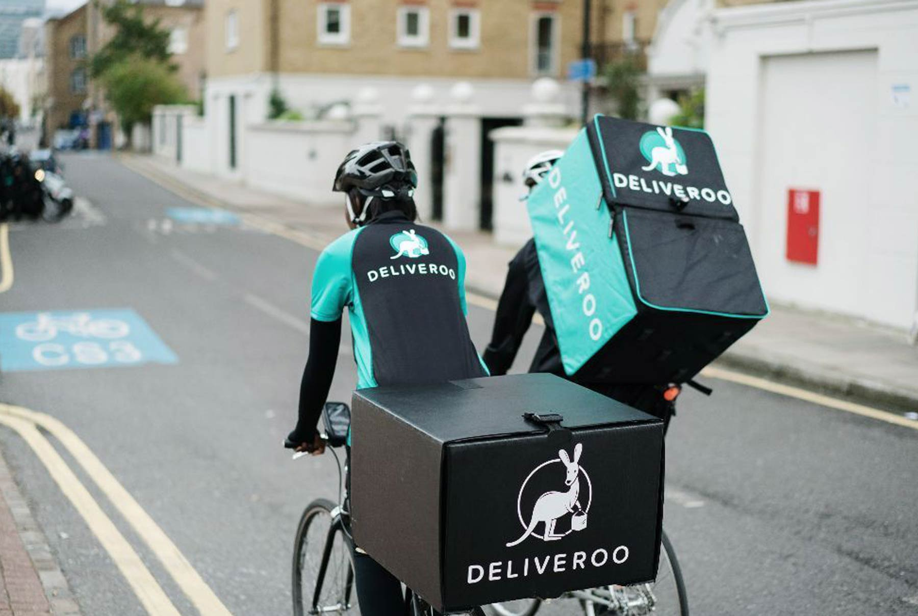 Deliveroo - a global concept that has received major funding to set it up for the future