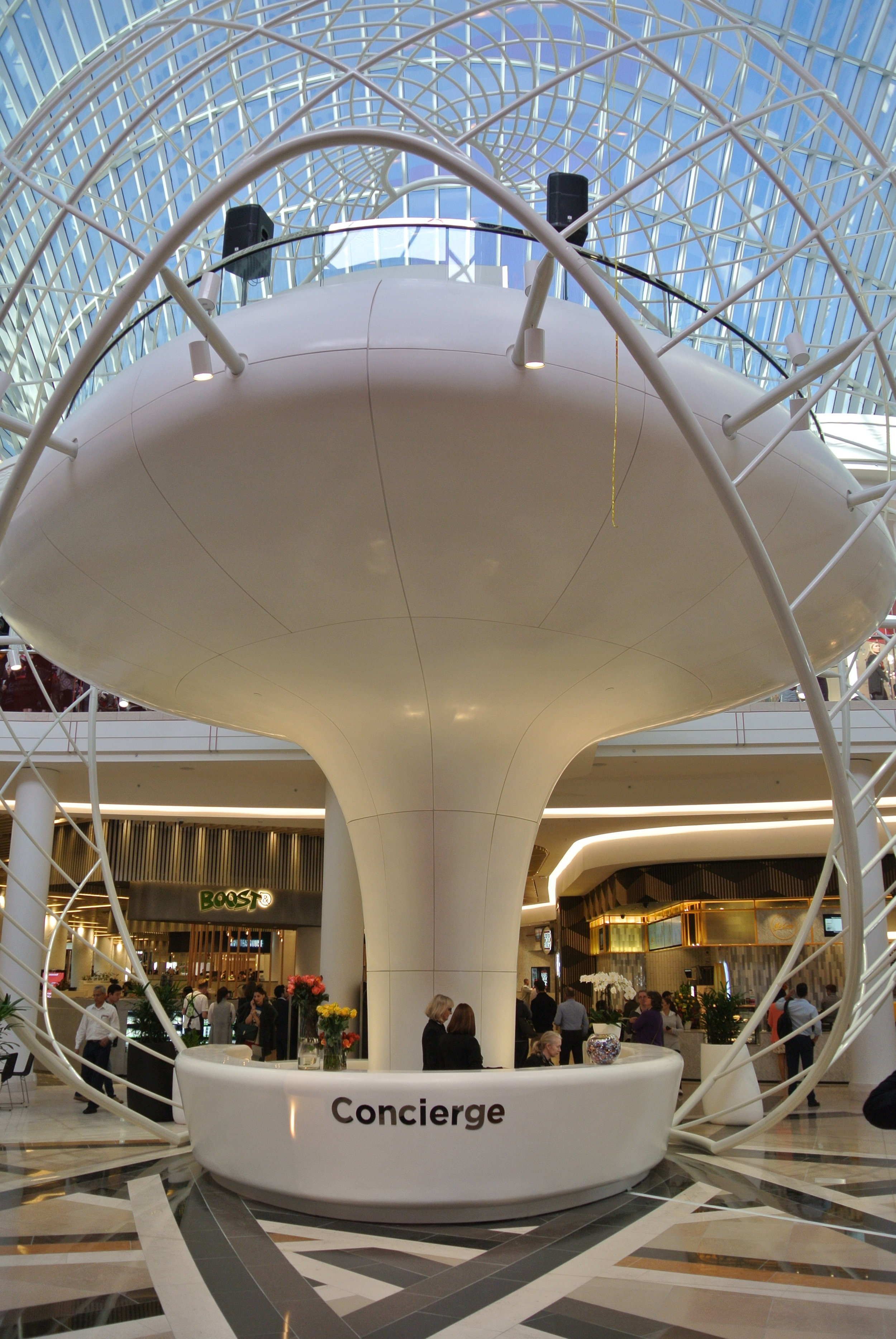 Concierge Desk in Food Court at Chadstone_Oct 2016.JPG