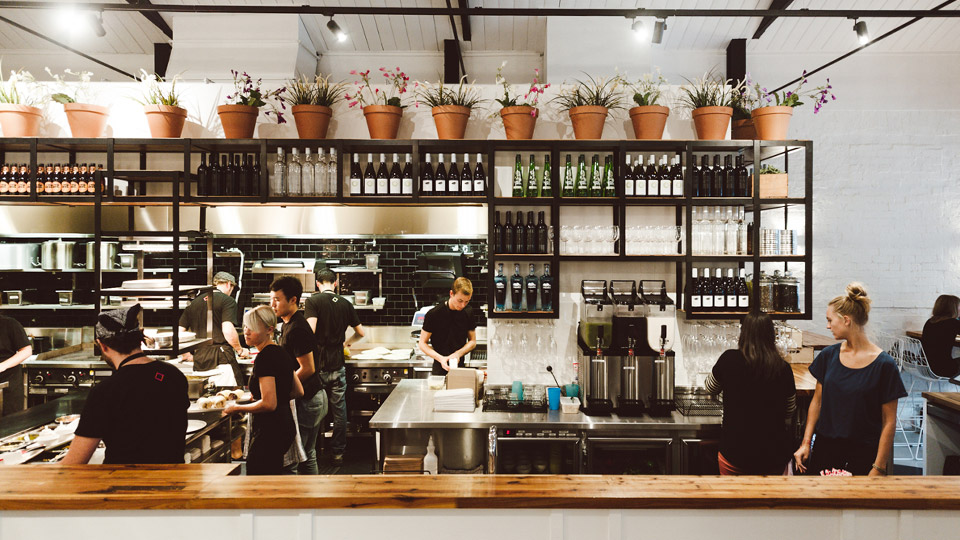 Fonda Mexican's exposed kitchen must remain visually appealing whilst still being functional for the chefs and FOH team