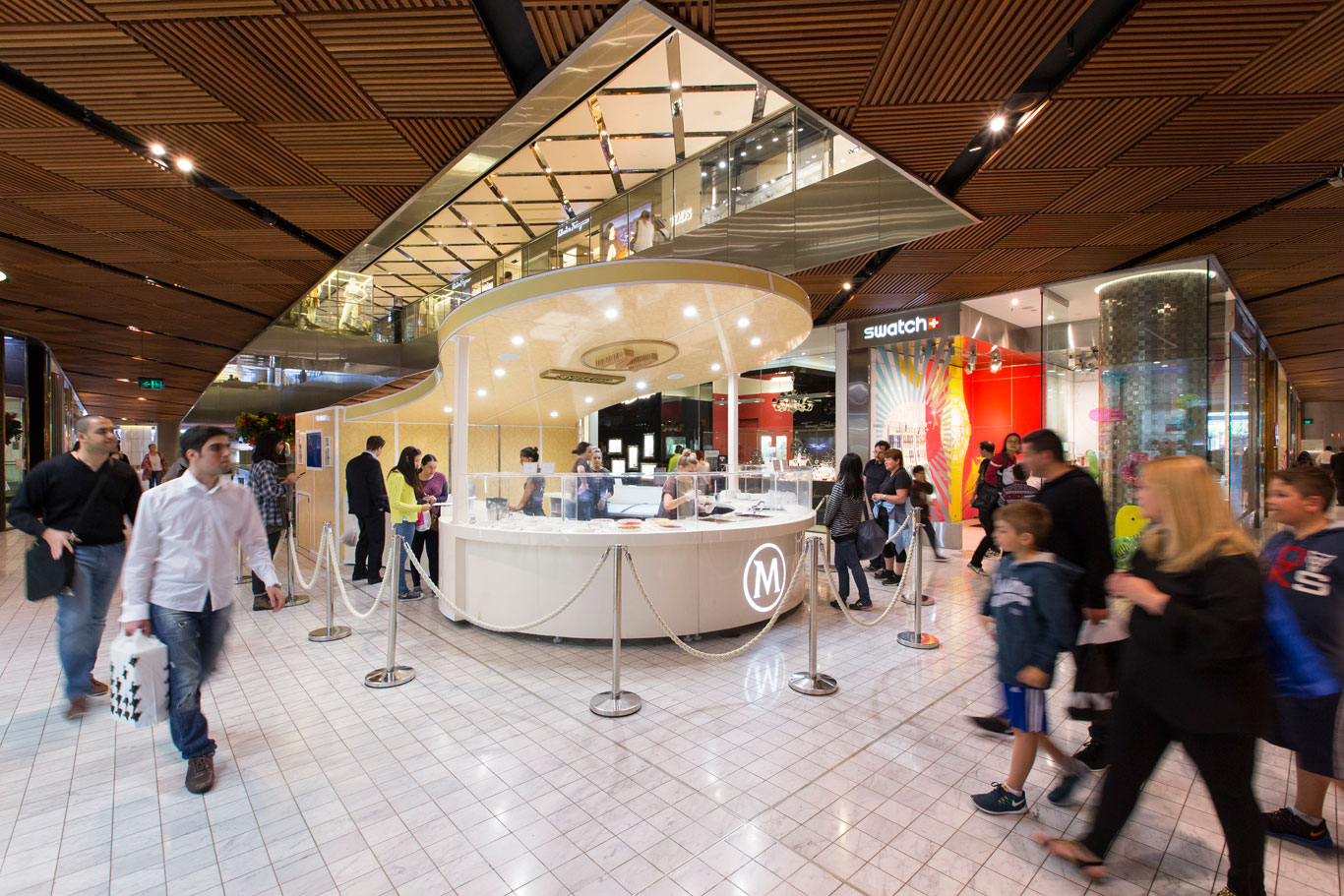The Magnum pop-up at Westfield Sydney  (image via Westfield)