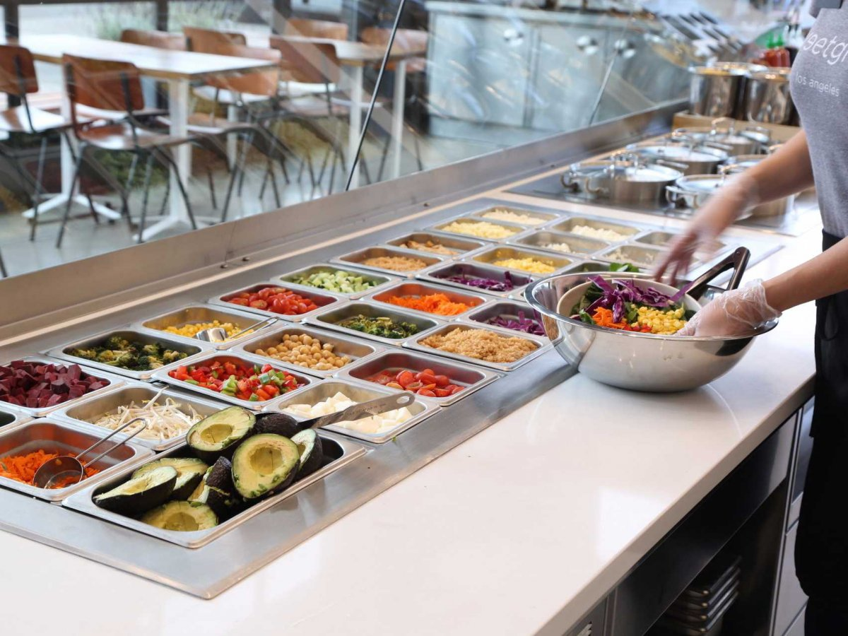 Sweetgreen , a healthy, whole food concept offering build-your-own salads with a conscience