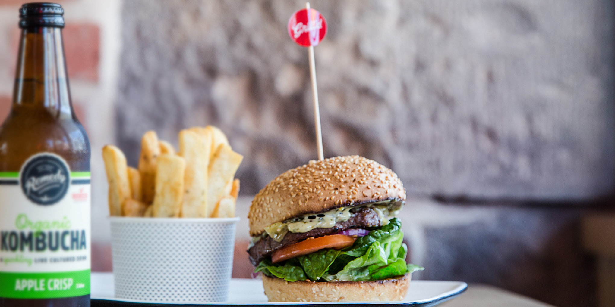 Grill'd burgers keeping Australian's satisfied ( image via  I Quit Sugar  )