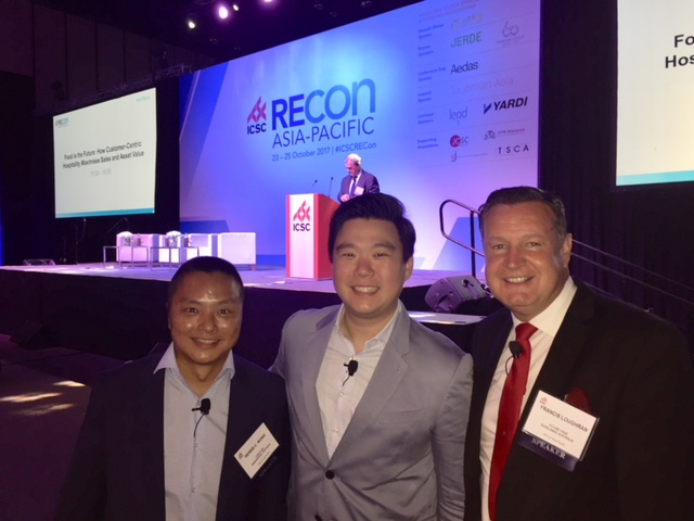 Dennis, Eric and Francis at RECon Asia Pacific 2017
