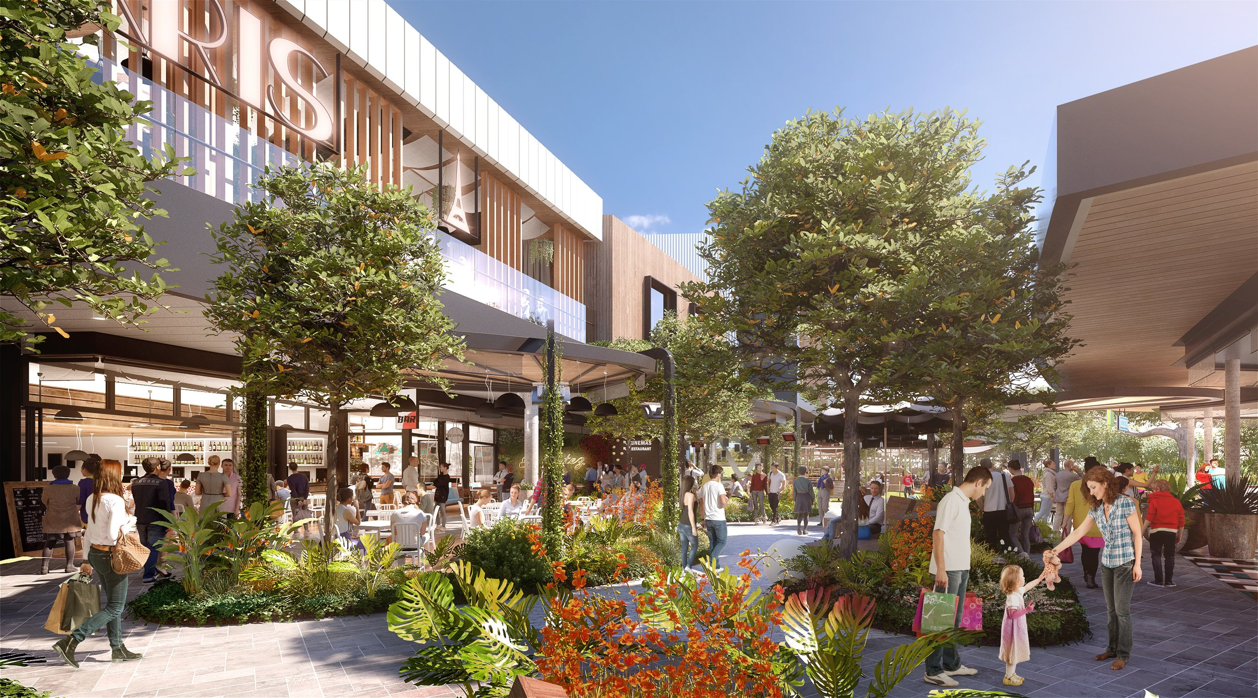 Plenty Valley Westfield by NH Architecture  (image via Scentre Group)
