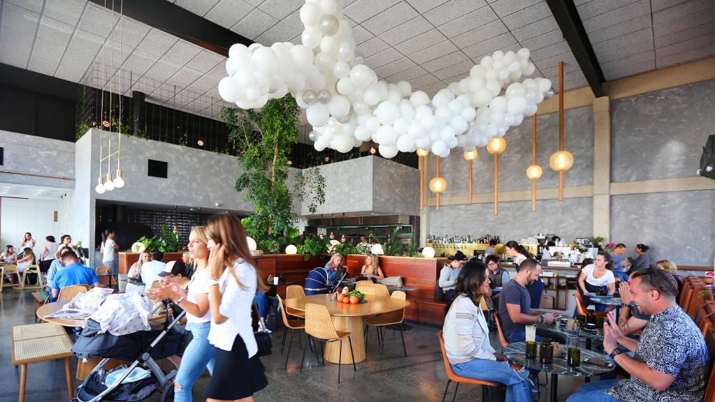 The beautifully designed  Abacus Bar & Kitchen  in Prahran -  photo by Rebecca Michael for Herald Sun