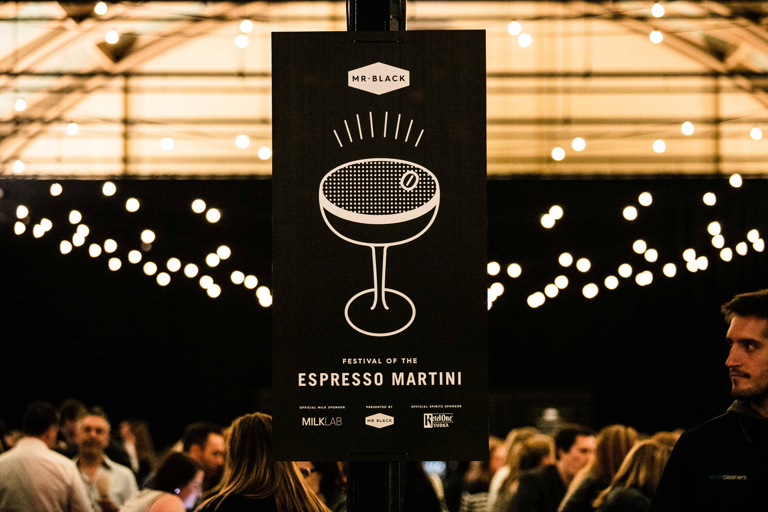 Mr Black Espresso Martini Festival