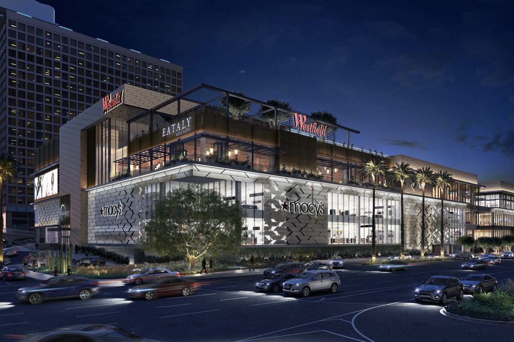 Westfield Century City, Los Angeles who have  recently opened a major Eataly  outlet  image and cover image via PBS Engineers