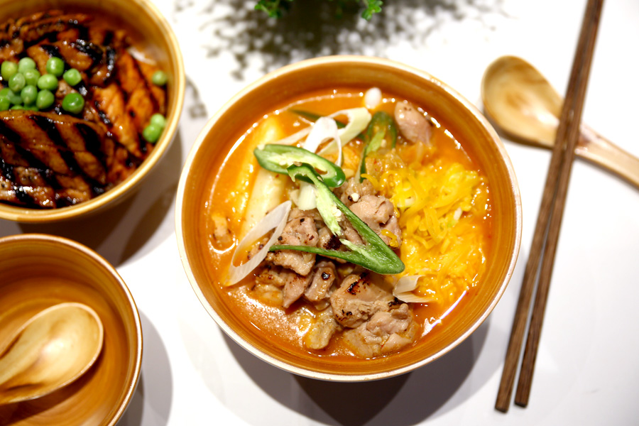 Noodle soup at Picnic, Singpore (scroll down for more information)  image via Daniel Food Diary