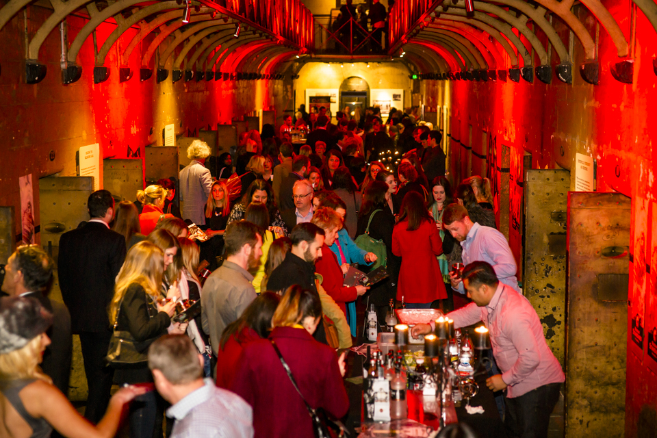 Old Melbourne Gaol`s Whiskey Pop-up Party re-purposed a Melbourne culture site into a social hub  image via The Plus Ones