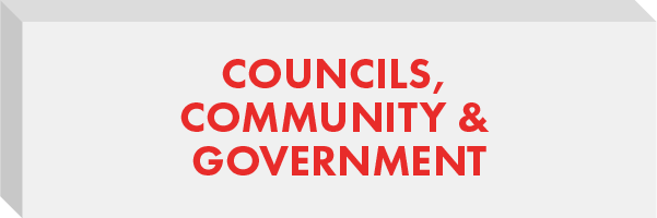 Councils, Community & Government