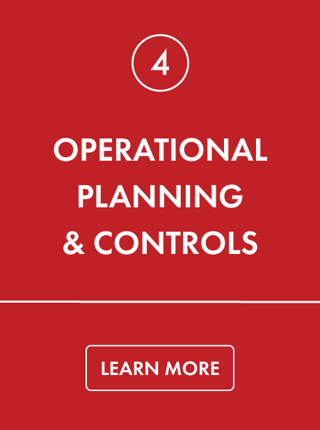 Operational Planning & Controls