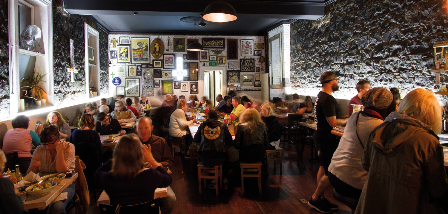 Enjoy a meal at Smith & Daughters - A bustling Restaurant in Melbourne North
