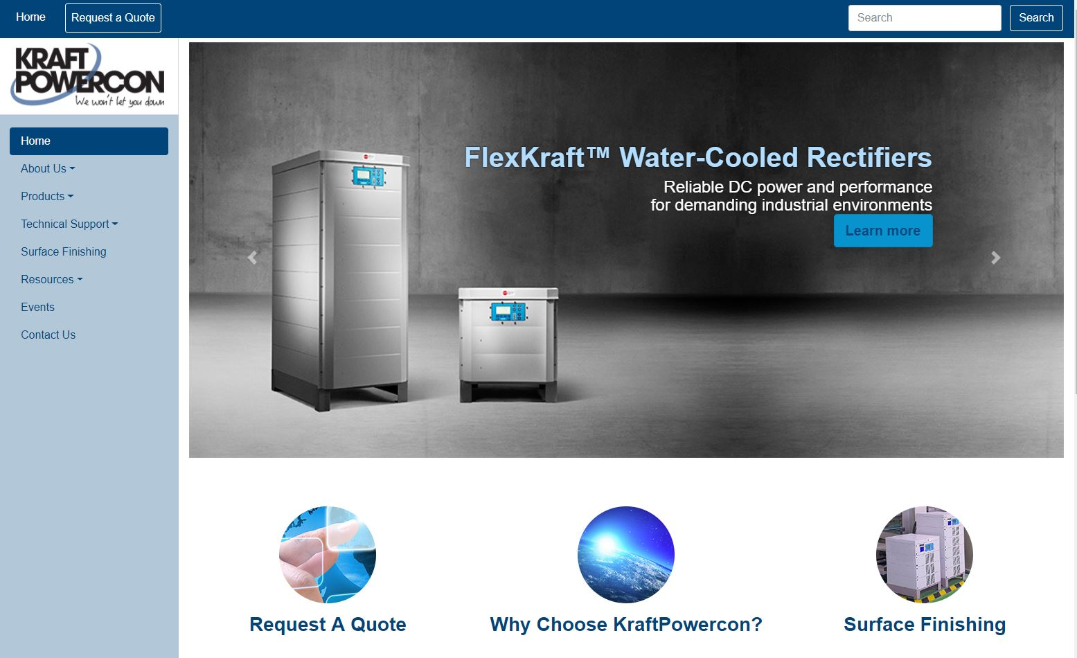 kraft website homepage.JPG