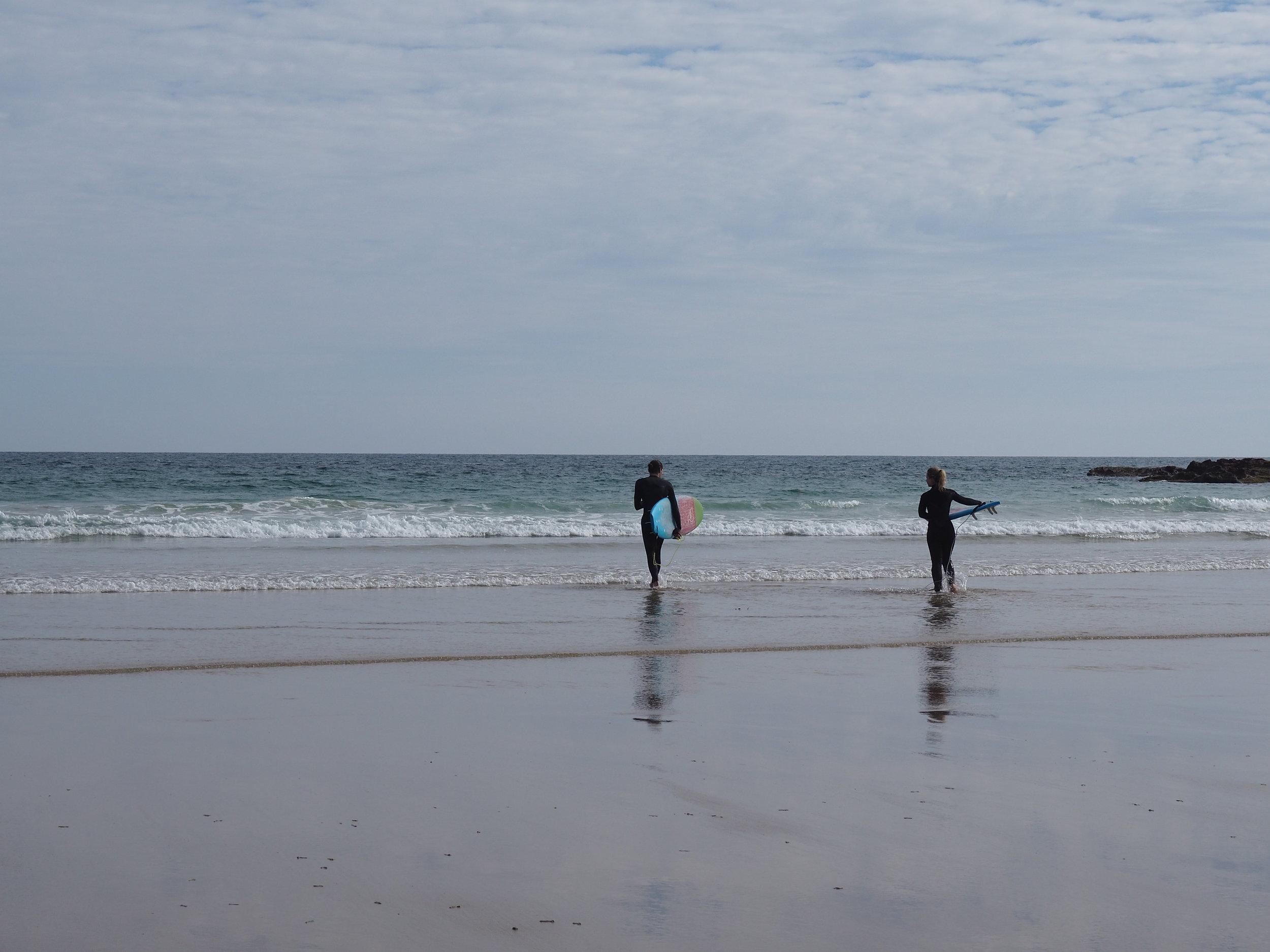 Clifftop - surfers.JPG