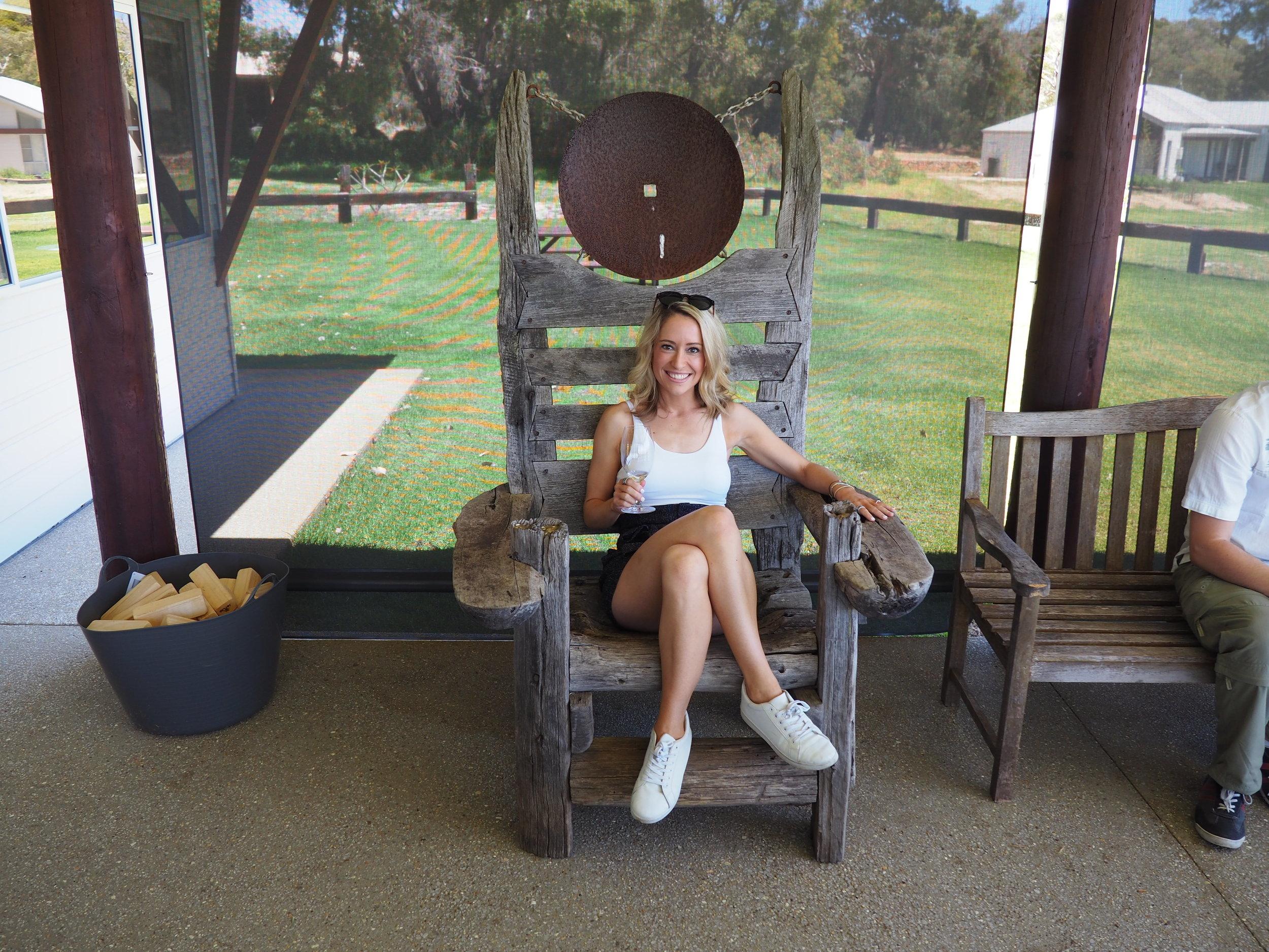 Wooden chair feat Cat.JPG