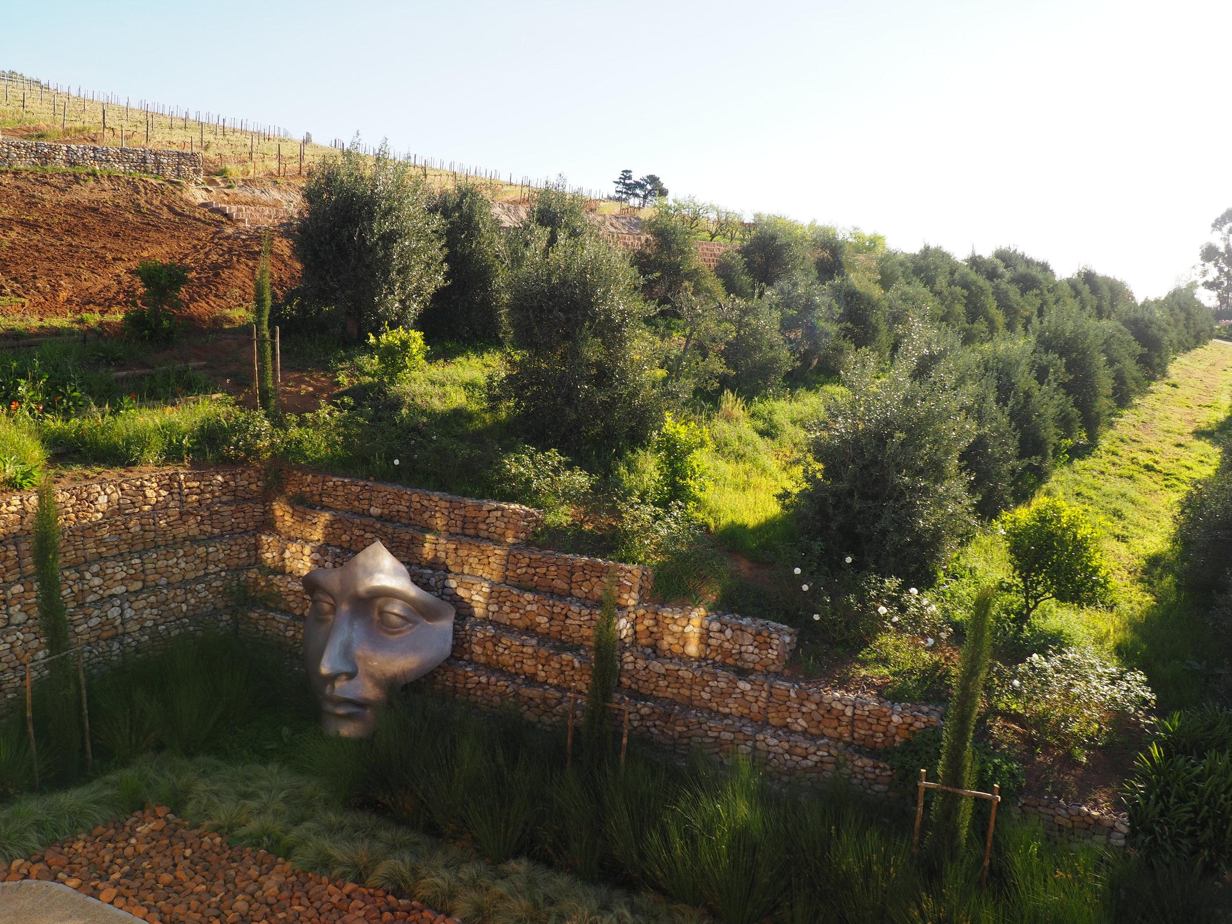 Hidden valley face and garden.JPG