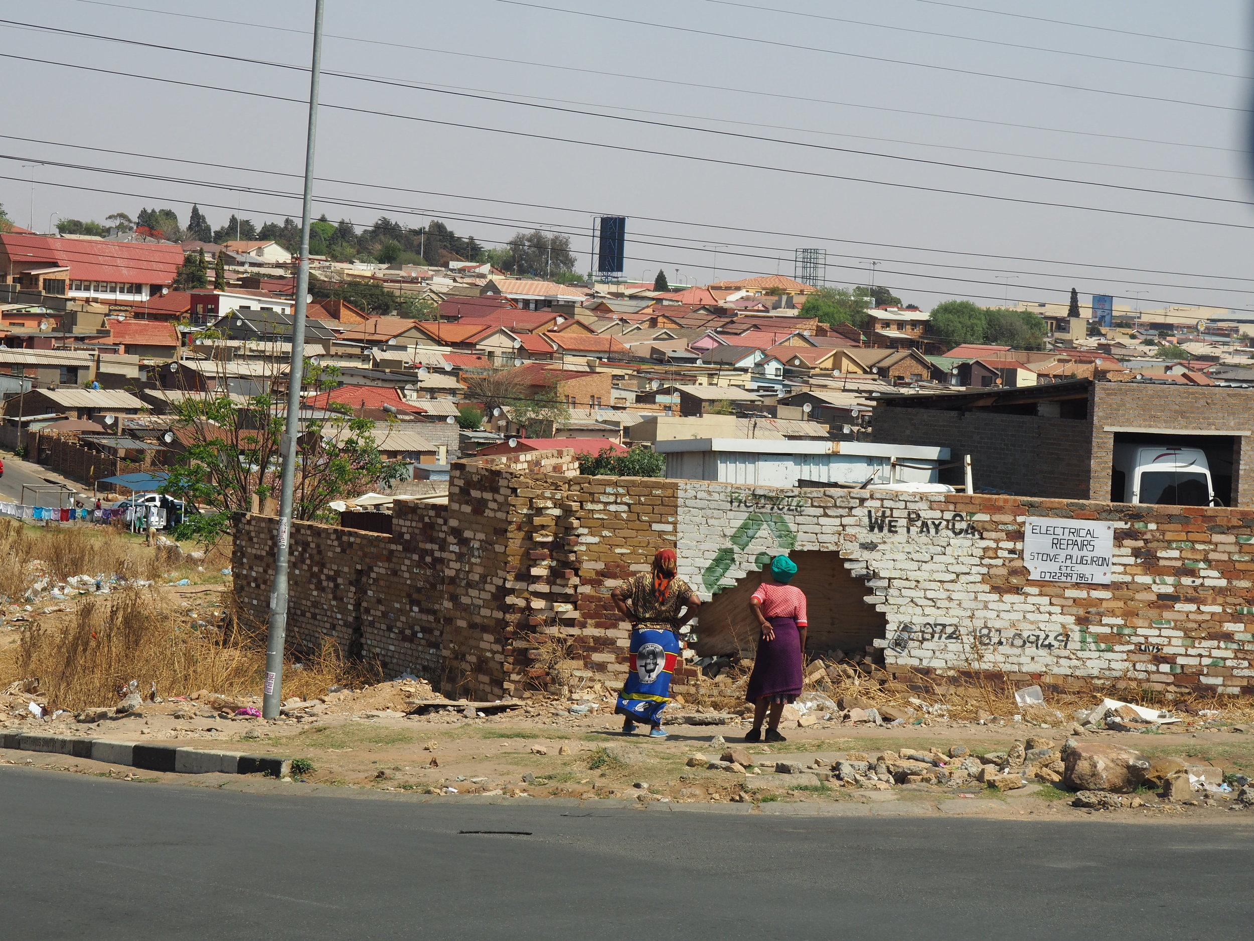 Soweto feat two ladies.JPG