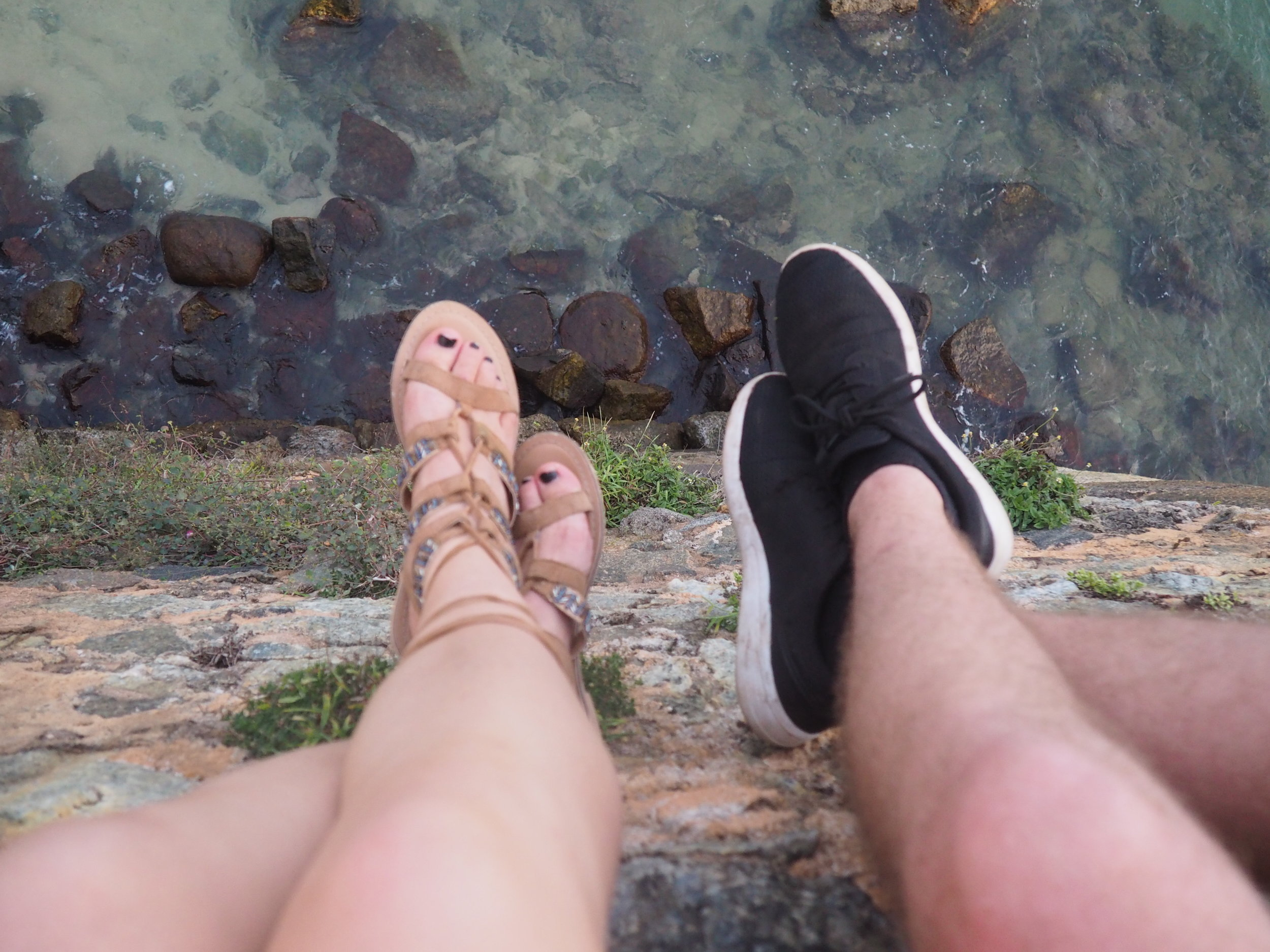 Galle fort shoes.JPG