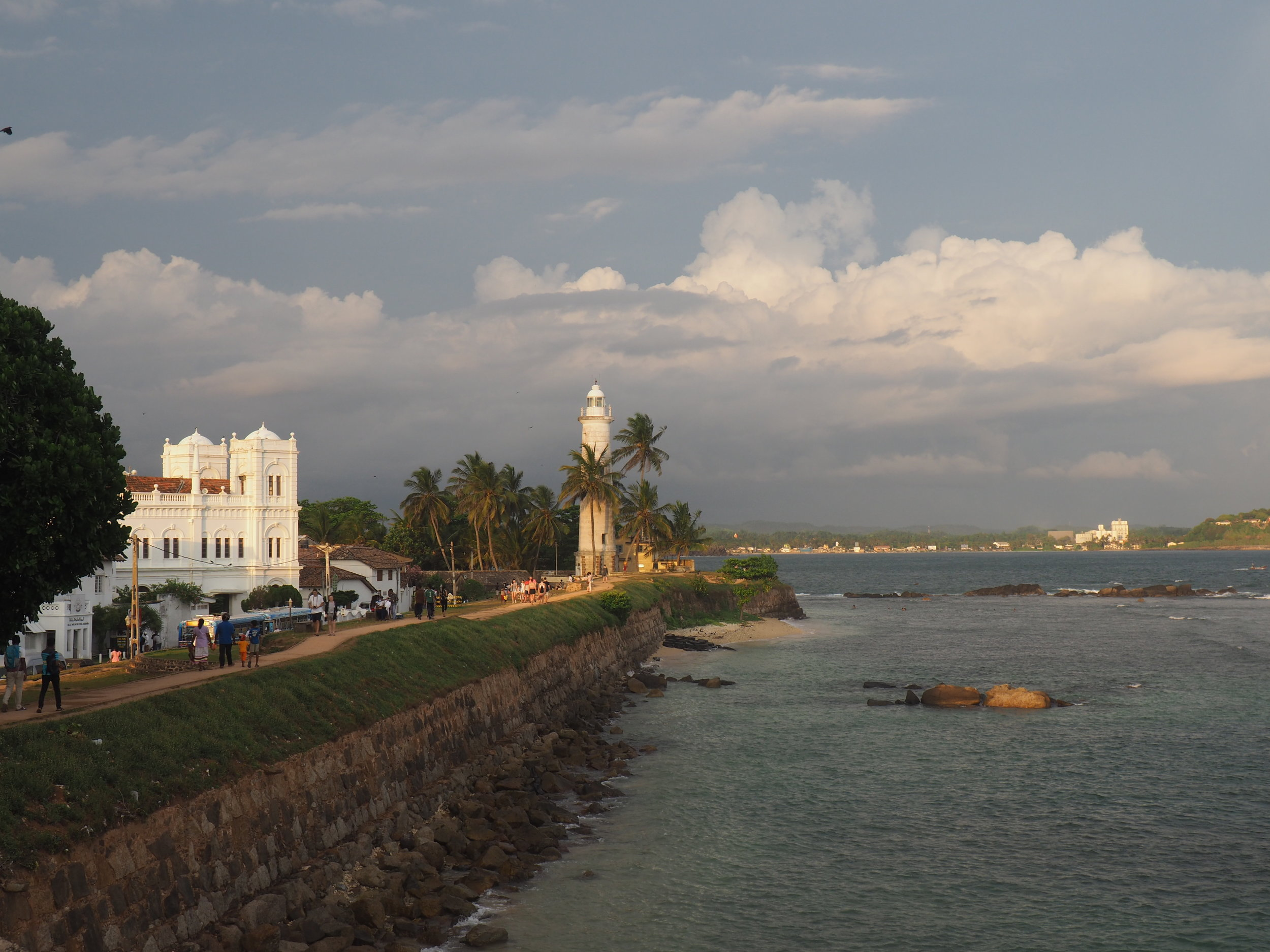Galle fort walls.JPG